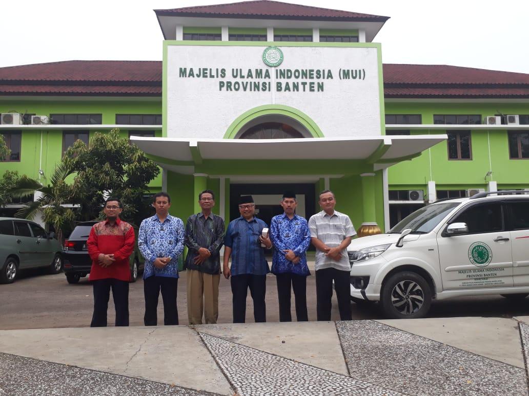 Foto Bersama Ketu Umum MUI Provinsi Banten